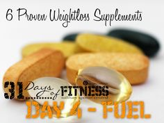 A great guide to supplements that are proven to help with weight loss.