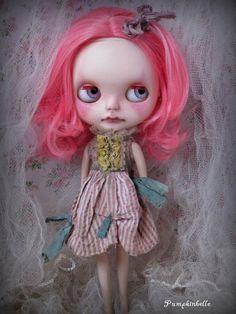 Little Cotton a Custom Blythe doll by ThePumpkinbelle on Etsy