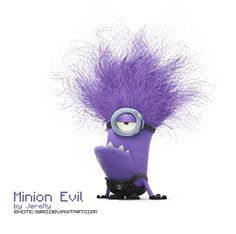 After seeing Despicable Me I KNEW we had to somehow include the.the Evil Purple Minions in our week of learning fun.