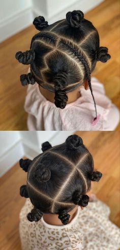 Detailed how to bantu knots tutorials on natural hair, braids or locs, brief history of bantu knots and 20 bantu knots hairstyles perfect for kids and adults.