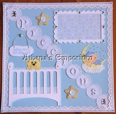 baby boy single page - Scrapbook.com
