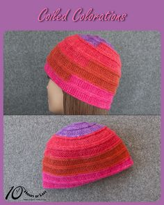 Coiled Colorations child, youth & adult hat in Cloudborn Merino Alpaca Sport Color Change [knit in 10 hours] @Craftsy