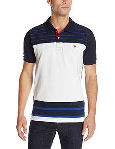U.S. Polo Assn. Men's Engineered Stripe, White, Medium U.S. Polo Assn. http://www.amazon.com/dp/B00M0DMBW0/ref=cm_sw_r_pi_dp_EmAfvb1XMTF84