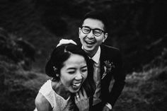 Love the emotion in this candid wedding moment captured by Lukas Piatek