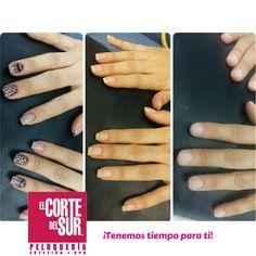 ¡#Cambios para tus uñas, porque la primera impresión es la más importante!  Luce unas manos bellas y muy sofisticadas con la técnica de uñas esculpidas en acrílico y un hermoso decorado que te da ese toque especial.   Esta es una bella creación de nuestra talentosa manicurista profesional Laura Xiimena Robles.  Cuidamos de ti,¡Tenemos tiempo para ti!