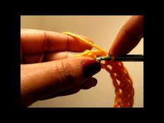 How to Crochet - The Shallow Single Crochet