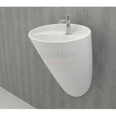 Bocchi Venezia hangende wastafel met kraangat mat wit Toilet, Sink, Bathtub, Bathroom, Home Decor, House, Sink Tops, Standing Bath, Washroom