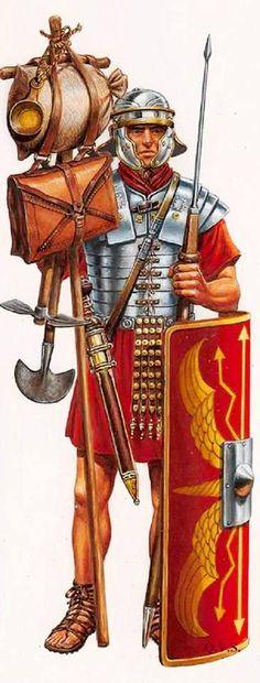 Легионер в походе