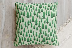 wood for the trees Pillow by Stacy Cooke   Minted