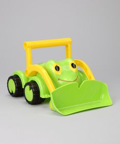 Take a look at the Froggy Bulldozer on #zulily today!