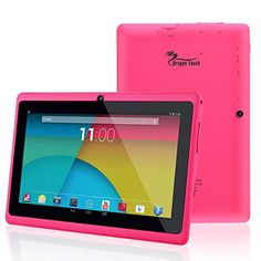 Dragon Touch® Y88X 7'' Quad Core Google Android 4.4 KitKat Tablet PC - PC720 #tabletpc #android #portables
