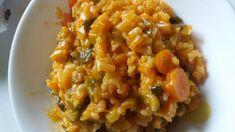 riz au poireau New Recipes, Favorite Recipes, Healthy Recipes, Quinoa Rice, Tasty, Yummy Food, Food Videos, Entrees, Macaroni And Cheese