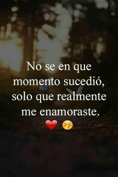 Romantic Spanish Quotes, Cute Spanish Quotes, Romantic Quotes, Messages For Him, Cute Messages, Relationship Quotes, Life Quotes, Qoutes, Gods Love Quotes