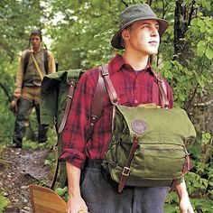 Front Portage Pack - Canoe Pack :: Duluth Pack :: Made in the USA :: Quality leather and canvas luggage, backpacks, camping, and outdoor gear,