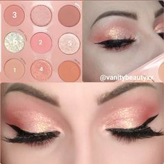 Using the colourpop baby got peach palette to create this gorgeous peachy nude look! Colourpop Eyeshadow Palette, Peach Eyeshadow, Eyeshadow Makeup, Morphe, Makeup Eye Looks, Eye Makeup Steps, Pretty Makeup, Coral Makeup, Peach Makeup