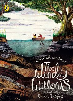 'The Wind in the Willows' by Kenneth Grahame. Cover illustration by Megan Edwards