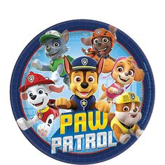 Paw Patrol Party Supplies, Kids Party Supplies, Paw Patrol Birthday Theme, Birthday Party Themes, Birthday Ideas, Birthday Plate, Boy Birthday, Princess Birthday, Halloween Costume Shop