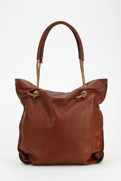 dean. B36 Knotted Handle Leather Tote Bag #urbanoutfitters