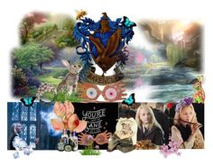 Summer Dreams by dearbhla-doherty on Polyvore featuring art, harrypotter and lunalovegood