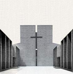 Riscoperta da un giovane ricercatore una chiesa protestante a Jelgava in Lettonia progettata Gunnar Asplund