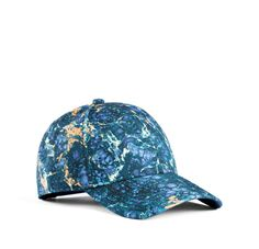 0ba0a4bd67e Camp Print Blue Marble by Acne  170 Sporty Chic