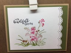 With Sympathy – Endless Creations Rubber Stamps Stamp Making, Card Making, Shield Of Faith, Deepest Sympathy, Old Mother, Different Words, Quick Cards, Penny Black, Lily Of The Valley