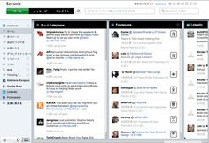 chrome web app allowing management of facebook, twitter, google+, etc