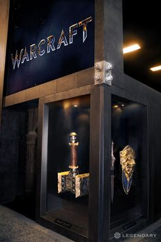 Props for the Warcraft movie, seen at SDCC!