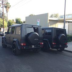 Matte black g wagon Mercedes G Wagon, Mercedes Benz G Class, Mercedes Amg, Mercedes Black, Black G Wagon, Lux Cars, Car Goals, Future Car, Car Car