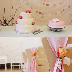 Pastel wedding decor