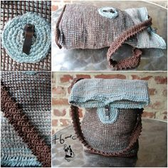 This is Tunisian crochet but I love the design - would look good in normal crochet or knitted