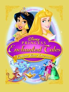Available in: DVD.Two cherished characters from Disney classics - Princess Aurora of Sleeping Beauty and Princess Jasmine of Aladdin - return Disney Movie Club, Disney Princess Movies, Film Disney, Disney Wiki, Disney Movies, Disney Characters, Princess Stories, Disney Crossovers, Disney Princess Enchanted Tales