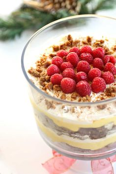 This Eggnog Gingerbread Trifle has layers of gingerbread, eggnog pudding and whipped cream. So good! I knew this dessert could go one of two ways. The idea of eggnog and gingerbread together to me sounded amazing but often things that sound good in my head don't always taste as good in reality. It could either be …