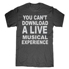 You can't download a live musical experience