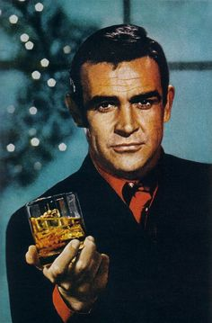 Bond / Connery. And a glass of whisky.