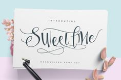 Sweetline Script Free Demo Sweetline Typeface, is a calligraphy wavy, modern and clasik, perfect for your next design, such as logos,