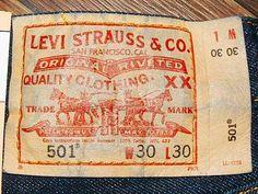 levis 501 label - Google Search