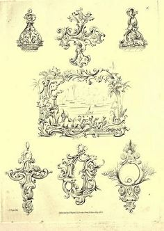 Knight's Unique Fancy Ornaments 1834 -6 | Flickr - Photo Sharing!