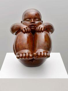 L'Attente de Mariela Garibay #sculpture #bronze Melting Art Gallery Lille