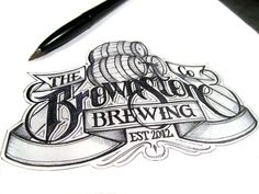 Type Junkie, (via Beer Labels on Behance)