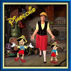 Pinocchio Disneybound