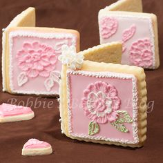 Valentine Sugar Cookie Card