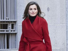 As one of the best dressed royals in Europe, Queen Letizia of Spain often surprises us with some super stylish outfits, which look elegant and sophisticated. The Spanish royal often mixed and matches high end designer pieces with affordable fast fashion ensembles to deliver her signature styles for us all to get inspired.   #boots #celebrity #fall 2017 #fashion #Queen Letizia Of Spain #red boots trend #shoes #shoes 2018 #spring 2018 #street style #style #trend