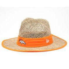 ce7da7382be6c NFL Denver Broncos Training Camp Straw Hat