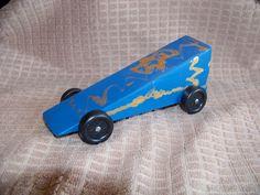 Wedge Pinewood Derby Car