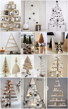 40 DIY Creative and Inspiring Christmas Trees unusual christmas trees 2 Unusual Christmas Trees, Diy Christmas Tree, Christmas Projects, All Things Christmas, Winter Christmas, Christmas Holidays, Christmas Ornaments, Outdoor Christmas, Modern Christmas