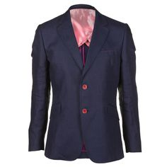 Holland Esquire Mens Navy Blue Linen Shooting Jacket
