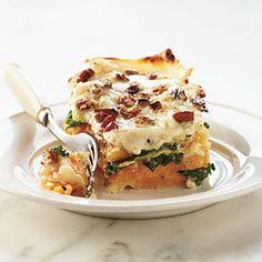 Butternut-Kale Lasagna | MyRecipes.com