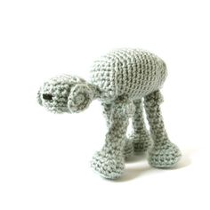 Amigurumi Pattern - Star Wars Imperial Walker - Crochet Pattern ($5.01) found on Polyvore