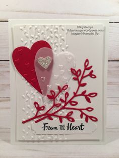 libbystamps, stampin up, BFBH, Petal Palette, Lots to Love Box Framelits, Mini Heart, Petal Pair EF, Everyday Label